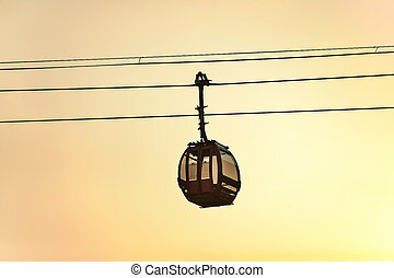Tianmen Shan cable car is the longest cable car ride in the...