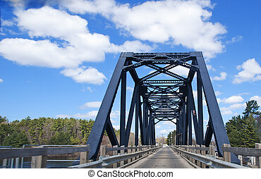 Swing Bridge in Parry sound - Swing bridge in Parry Sound...