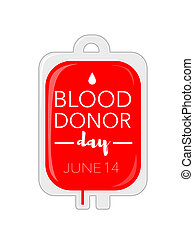 Blood donor day, june 14th