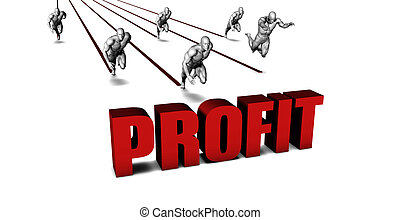 Higher Profit with a Business Team Racing Concept