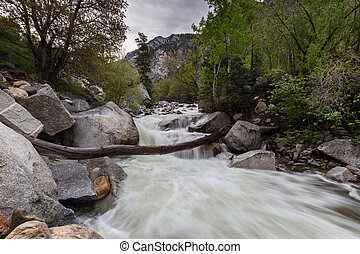 Little Cottonwood River - The Little Cottonwood River after...