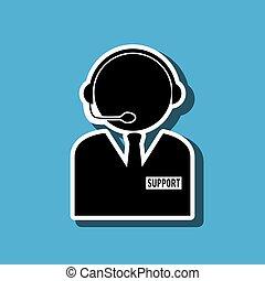 technical support design - technical support design, vector...