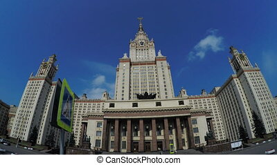 Main University of Moscow - Main building of the Moscow...