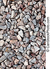 gravel background - photo shot of gravel background