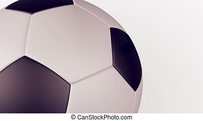 """Soccer Ball Animation. Matte Channel."""