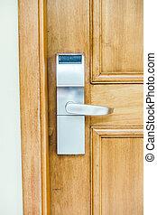 Door handle decoration room - Vintage Light Filter