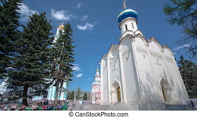Great monasteries of Russia timelapse hyperlapse The...