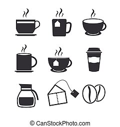 Coffee and Tea icons