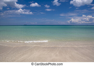 Atlantic Ocean - The Atlantic Ocean at South Beach