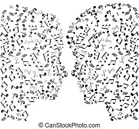 man and woman puzzles - vector man woman puzzles