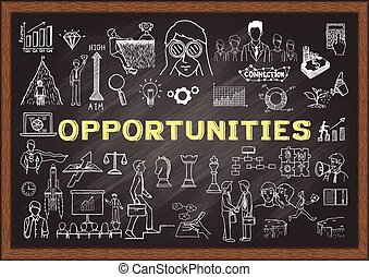 Searching for opportunities