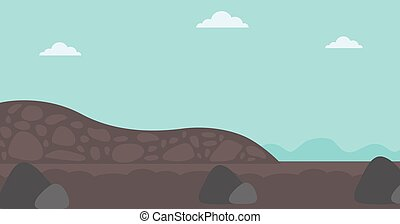 Background of heaps of coal - Background of heaps of coal...