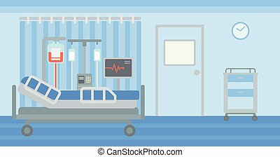 Background of hospital ward. - Background of hospital ward...