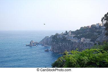 Italy coastline