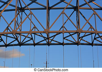 Francis Scott Key Bridge - A portion of the Francis Scott...