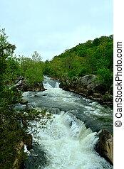 Potomac distributary - A distributary of the Potomac River...