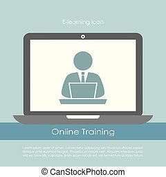 E-learning poster design