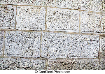 Historic Weathered Wall in Israel
