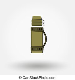 Thermos icon. - Thermos icon for web and mobile application....