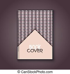 retro book cover - Book cover with a retro design