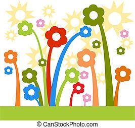 Sunshine Flowers