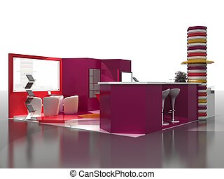 Exhibition Stand Interior Sample - Interiors Series