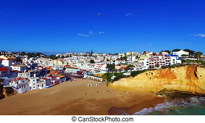 Aerial from the Carvoeiro Portugal - Aerial from the village...