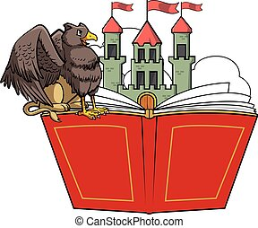 Griffin book story and castle