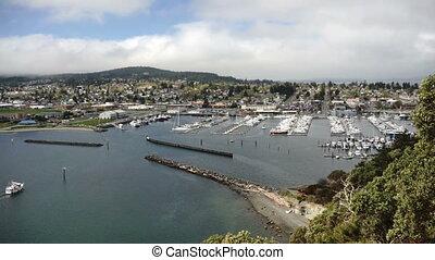 Puget Sound Fidalgo Bay Anacortes Washington Cap Sante Park...