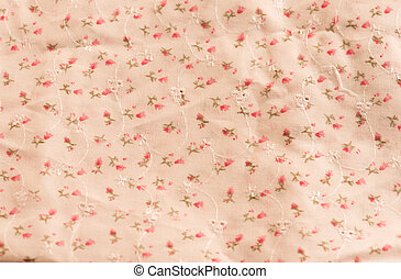 Flower on white seamless pattern background