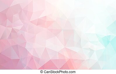 Abstract polygonal background - Abstract vector triangle...