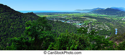 Landscape view in Queenland Australia - Dramatic landscape...