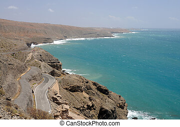 Coastline of Gran Canaria, Canary Islands Spain