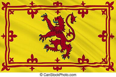 Flag of Scotland, United Kingdom of Great Britain
