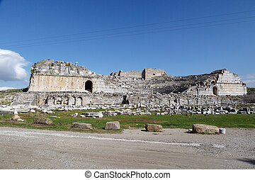 Miletus Ancient City View - View of Miletus Ancient City...