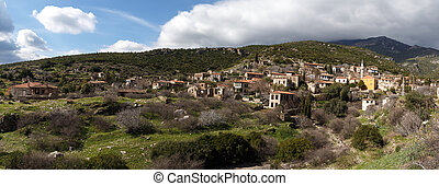 Small Village View - General panoramic view of historical...