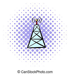 Cell phone tower Illustrations and Clipart. 621 Cell phone tower ...