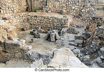 Excavated Ruins of the Pool of Beth