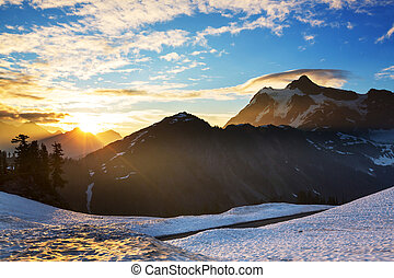 MtShuksan - Mount Shuksan, Washington
