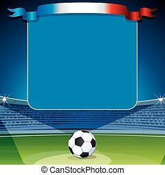 Soccer Background. Ready for Your Text and Design.