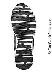 Shoe sole isolated on white background