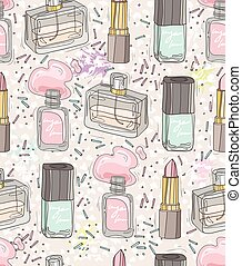 Seamless beauty pattern