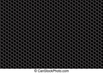 Metal grill seamless background