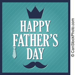 Fathers Day greeting template