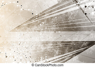 Generic Grunge Futuristic Abstract Background