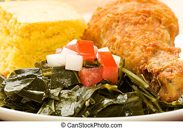 Collard Greens - Collard greens take center stage...