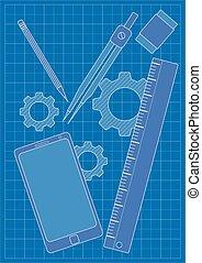 Blueprint - modern design