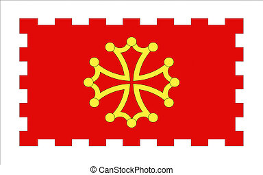 Flag of Aude, France - Flag of Aude is a department in...
