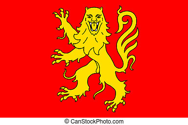 Flag of Aveyron, France - Flag of Aveyron is a department...