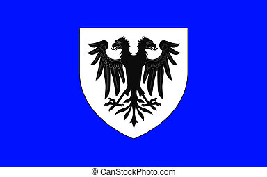 Flag of Bressuire, France - Flag of Bressuire is a commune...